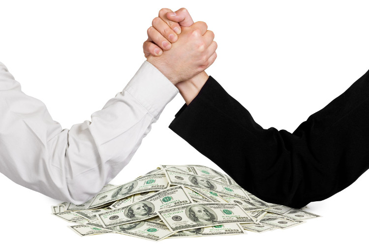 Is negotiation just arm wrestling over money?